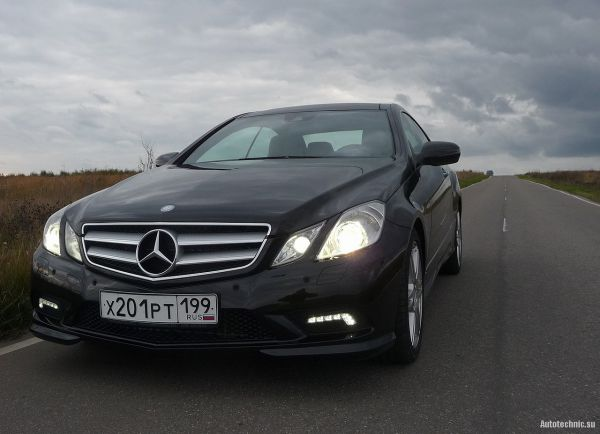 Mercedes-Benz E 500 coupe