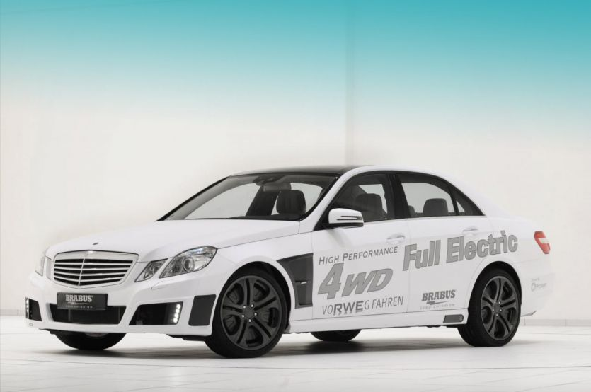 Brabus High Performance 4WD Full Electric